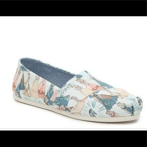 Toms Limited Edition Sleeping Beauty Flats